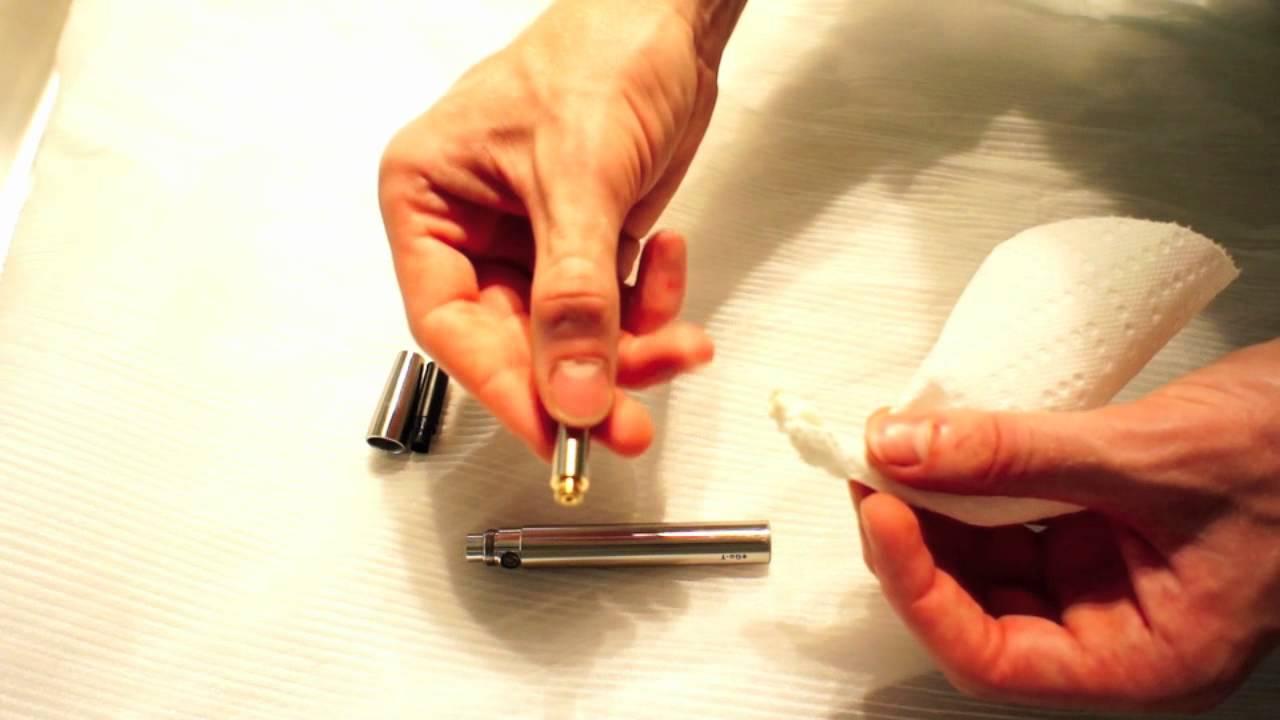 Zo maakt u uw e-sigaret schoon