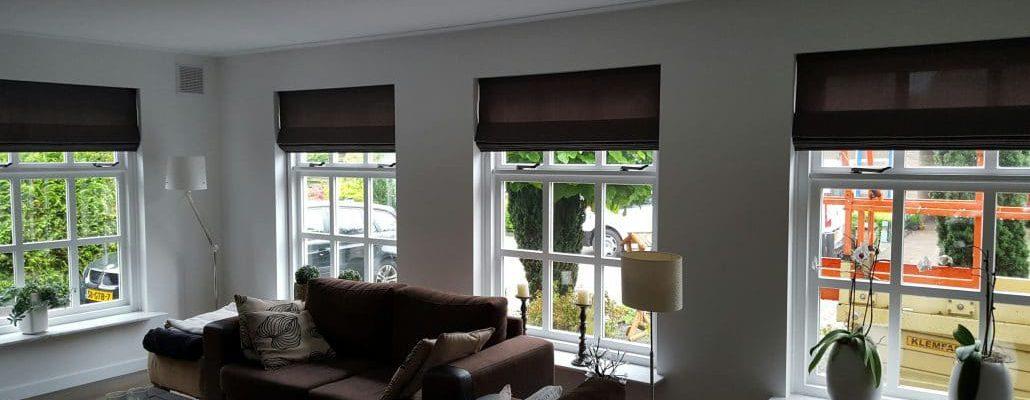 sfeer huis raamdecoratie