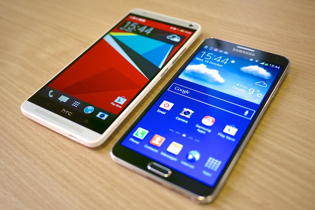Samsung of HTC