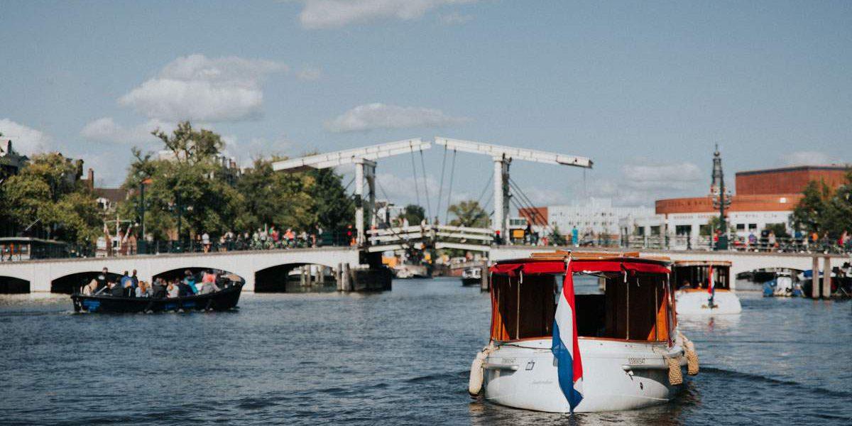 borrelvaart in Amsterdam