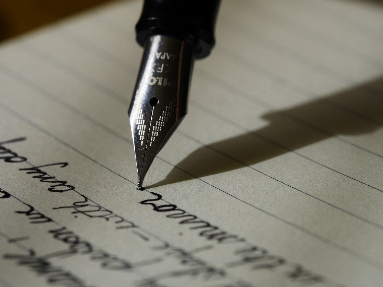 Met een vulpen schrijven: hoe doe je dat?