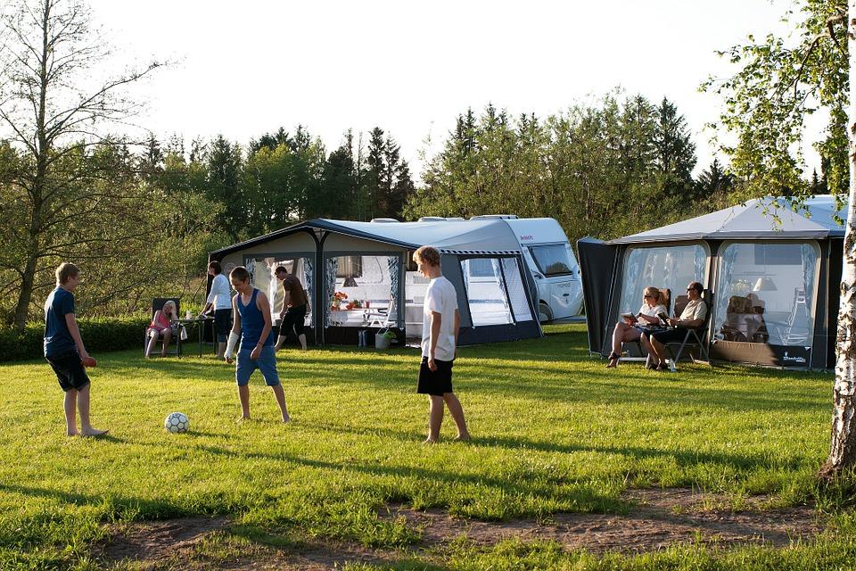 Boek een geschikte camping