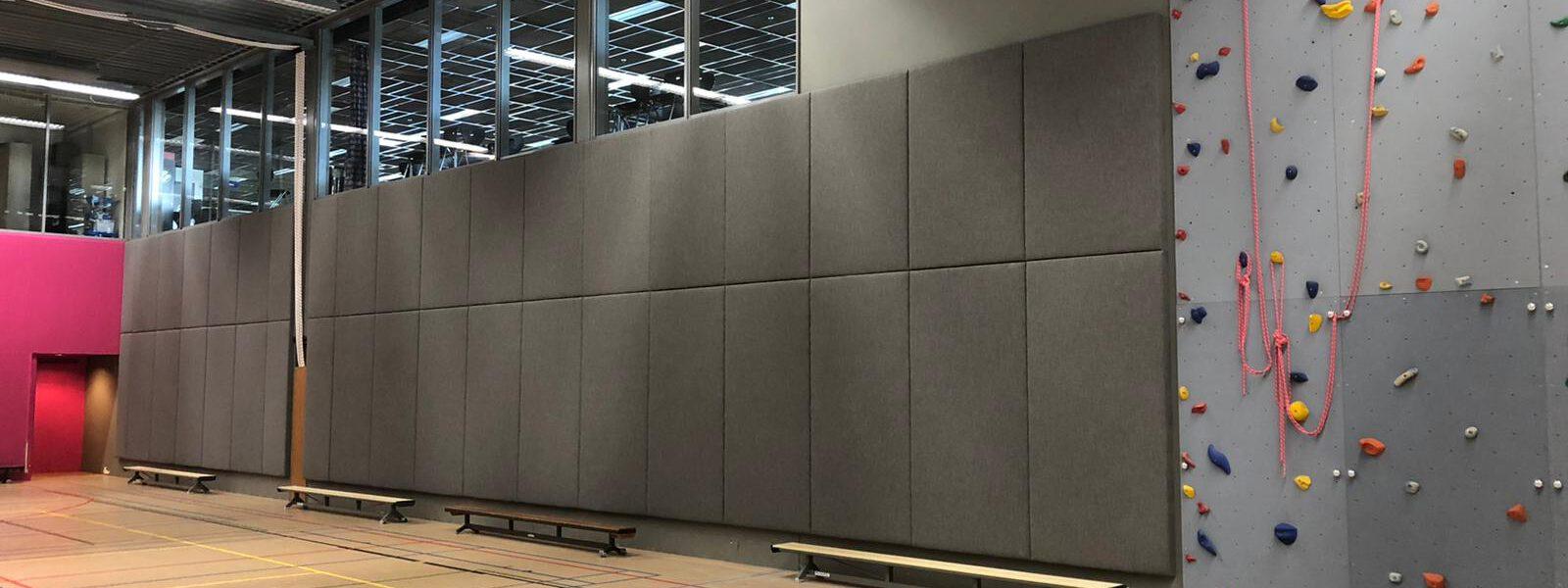 comfortabele akoestiek in sporthallen en gymzalen