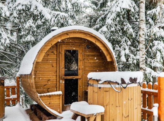 Genieten van een sauna in je eigen tuin